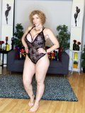 Black Lace Onesie